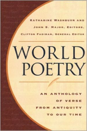 cover image of world poetry anthology
