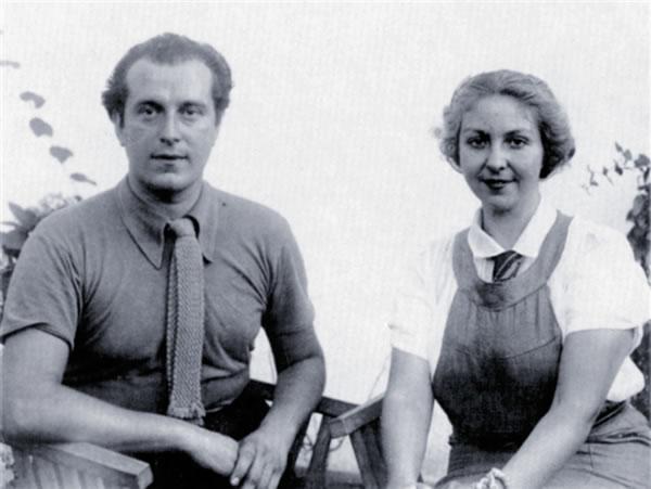 Rafael Alberti and Maria Teresa León