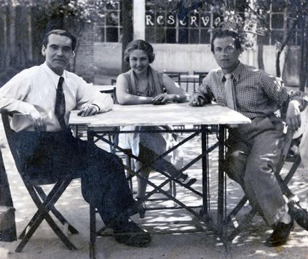 Federico-Garcia-Lorca-Maria-Teresa-León-and-Rafael-Alberti