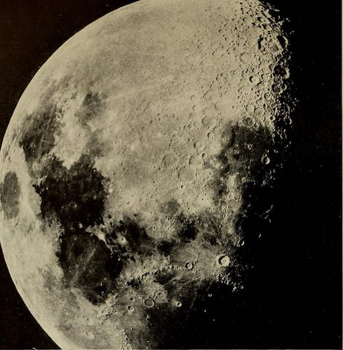 Antique Image of the moon